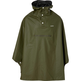Tretorn Pu Light Rain Poncho forest green